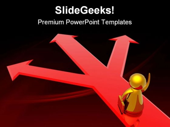Choice Of Correct Decision Business PowerPoint Themes And PowerPoint Slides 0511