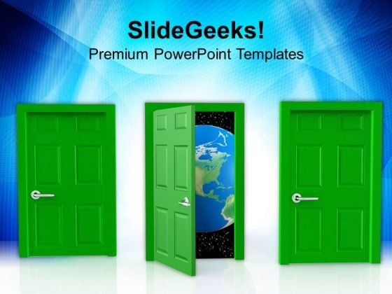 Choice To Select Global Opportunties PowerPoint Templates Ppt Backgrounds For Slides 0713