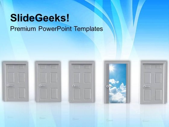 Choose The Correct Option PowerPoint Templates Ppt Backgrounds For Slides 0513