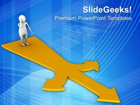 Choose The Correct Way PowerPoint Templates Ppt Backgrounds For Slides 0813