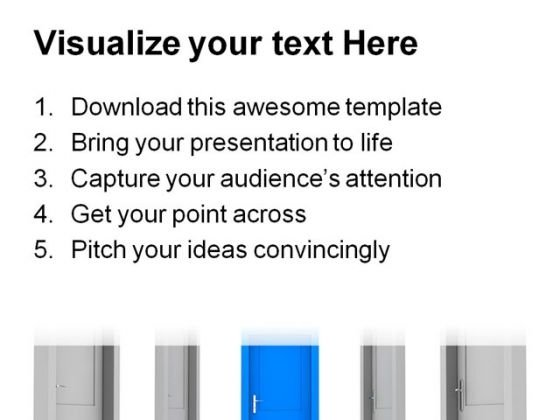 choose_the_door_business_powerpoint_template_0910_print