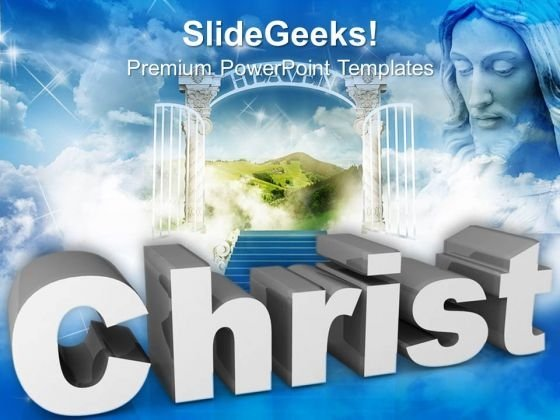Christ Church PowerPoint Templates And PowerPoint Themes 0912