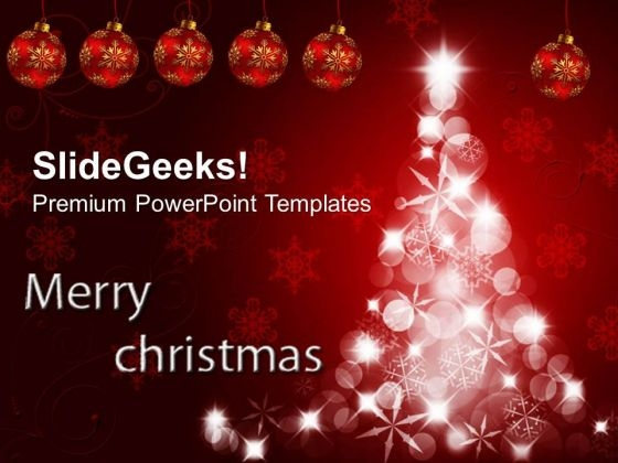 Christmas Abstract Point Templates And PowerPoint Themes 1012