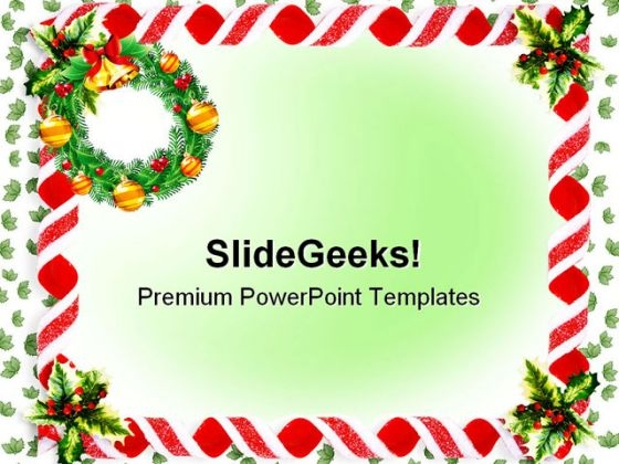 Christmas Background Festival PowerPoint Themes And PowerPoint Slides 0611