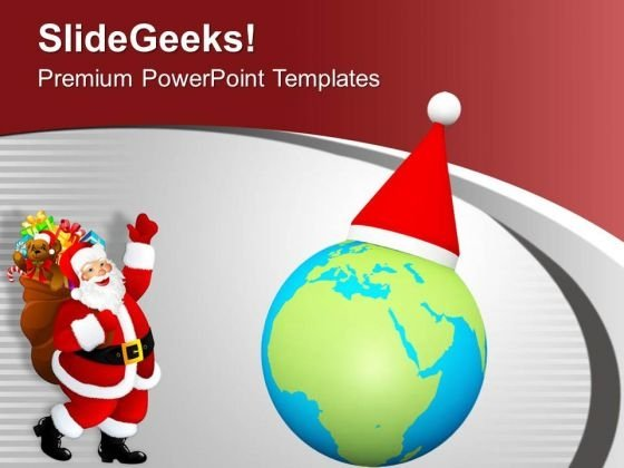 Christmas Celebrated Globaly With Happiness PowerPoint Templates Ppt Backgrounds For Slides 0513