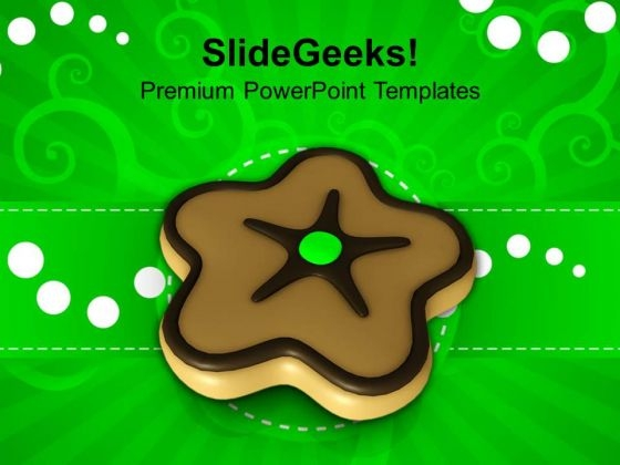 Christmas Cookie Food Holidays PowerPoint Templates Ppt Backgrounds For Slides 1212