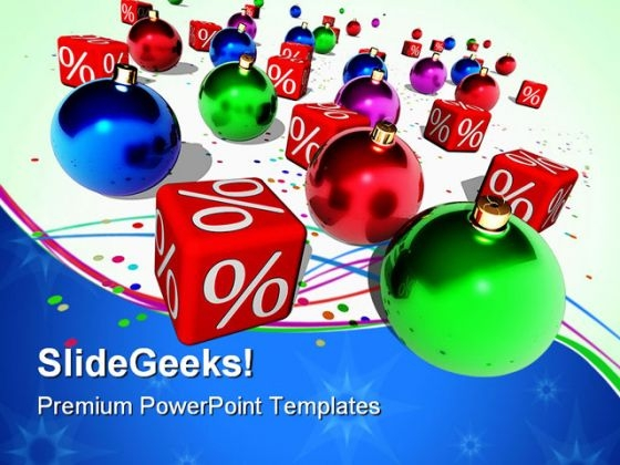 Christmas Discount Sales PowerPoint Themes And PowerPoint Slides 0611
