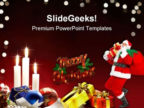 Christmas Festival PowerPoint Templates And PowerPoint Backgrounds 0511