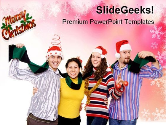 Christmas Fun Festival PowerPoint Themes And PowerPoint Slides 0711