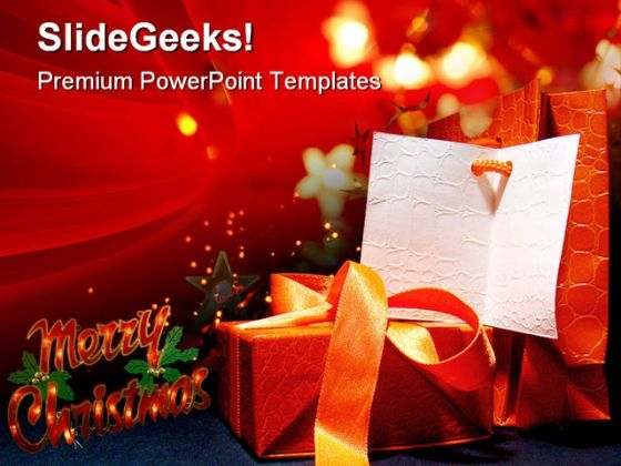 Christmas Gifts01 Festival PowerPoint Themes And PowerPoint Slides 0511