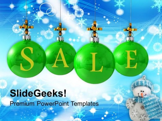 Christmas Sale Shopping PowerPoint Templates Ppt Backgrounds For Slides 1112