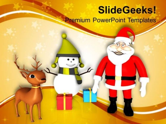 Christmas Theme Festival Holidays PowerPoint Templates Ppt Backgrounds For Slides 1212
