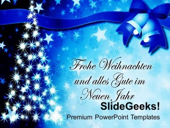 Christmas Wishes To All Your Loved Ones PowerPoint Templates Ppt Backgrounds For Slides 0613