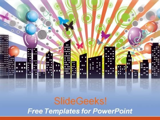 City Powerpoint Templates Slides And Graphics