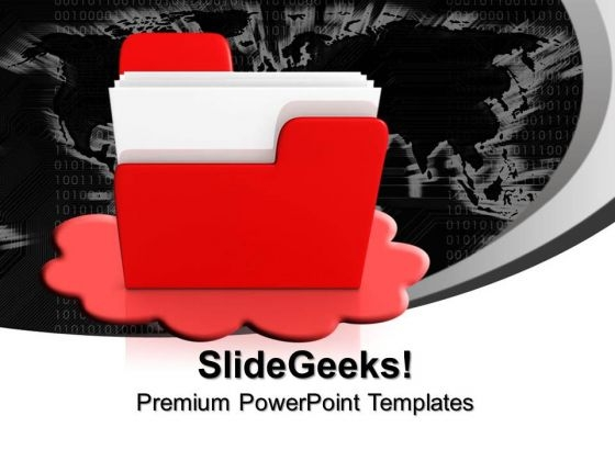 Cloud Computing Abstract PowerPoint Templates And PowerPoint Themes 0912