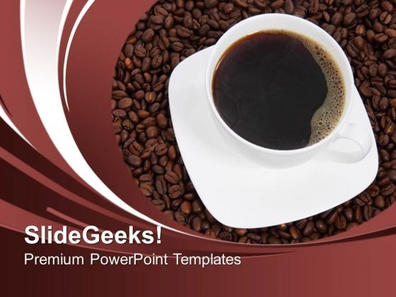 Coffee And Beans Health PowerPoint Templates Ppt Backgrounds For Slides 0213