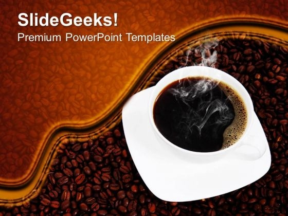 Coffee Food PowerPoint Templates And PowerPoint Themes 0512