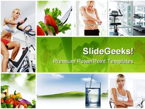 Collage Health PowerPoint Themes And PowerPoint Slides 0511