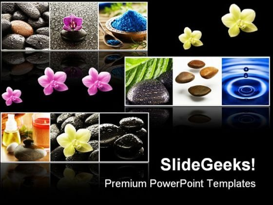 Collage Of Spa Beauty PowerPoint Themes And PowerPoint Slides 0311