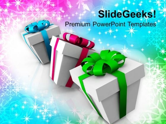 Colorful Gifts Festival PowerPoint Templates Ppt Backgrounds For Slides 1112
