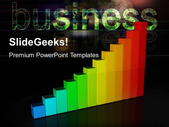 Colorful Graph Money Business PowerPoint Templates And PowerPoint Themes 0512