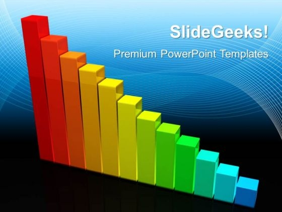 Colorful Graph Profit Money PowerPoint Templates And PowerPoint Themes 0512