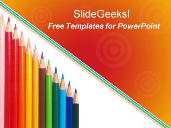 School Kids Education PowerPoint Template