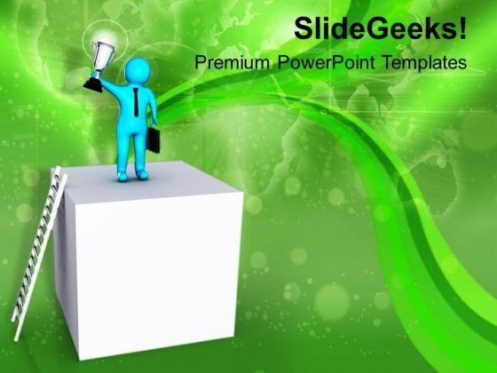 Come Forward And Show Your Ability PowerPoint Templates Ppt Backgrounds For Slides 0713