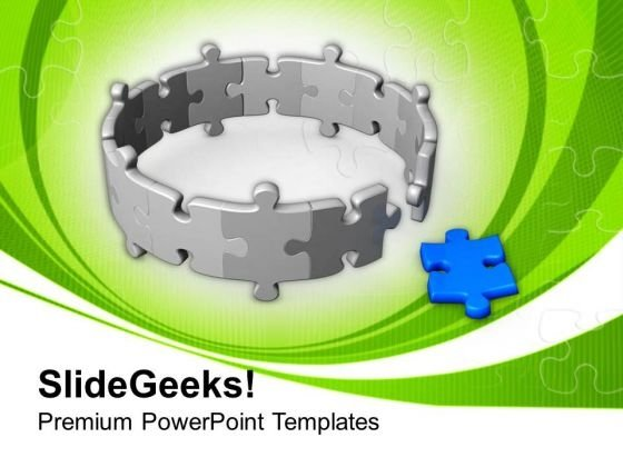 Come Out With Solution PowerPoint Templates Ppt Backgrounds For Slides 0513