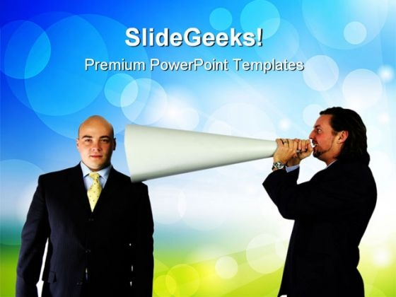 Communication01 Business PowerPoint Templates And PowerPoint Backgrounds 0711