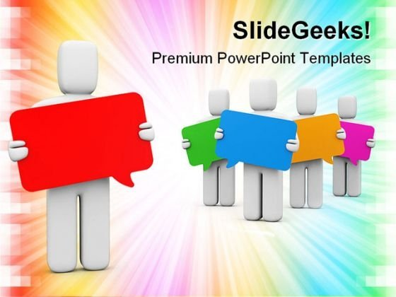 Communication Business PowerPoint Templates And PowerPoint Backgrounds 0711