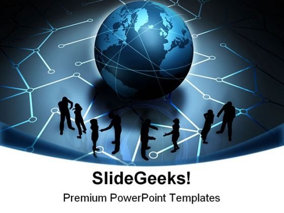 Communication People Business PowerPoint Templates And PowerPoint Backgrounds 0211
