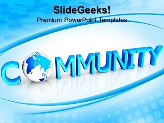 Community Global PowerPoint Templates And PowerPoint Themes 0912