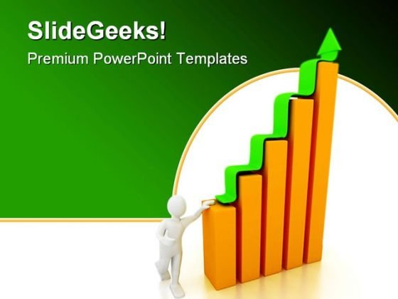 Company Chart Business PowerPoint Template 1110