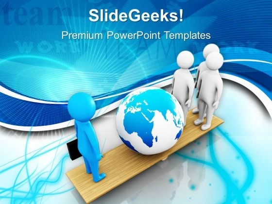 Comparison Between Leader And Team Business PowerPoint Templates Ppt Backgrounds For Slides 0513