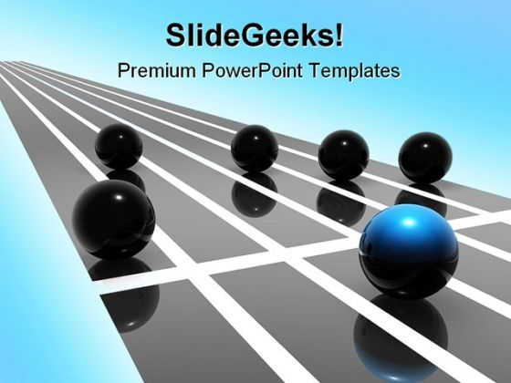 Competition Leadership PowerPoint Themes And PowerPoint Slides 0811