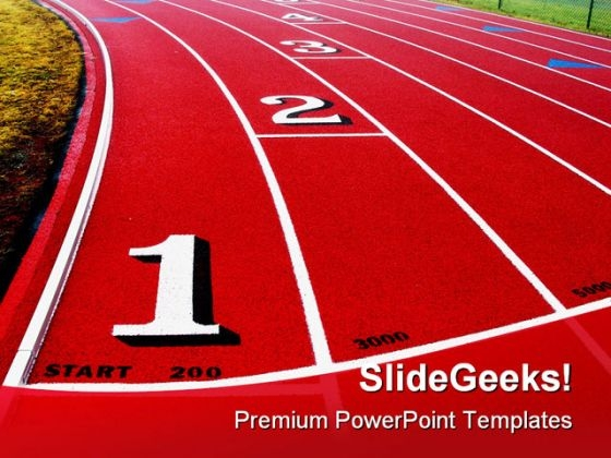 competition sports powerpoint template 0510 - powerpoint themes, Powerpoint templates