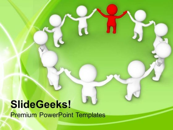 Complete The Solution With Right People PowerPoint Templates Ppt Backgrounds For Slides 0513