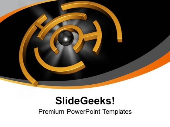 Completion Of A Task Business Success PowerPoint Templates Ppt Backgrounds For Slides 0413