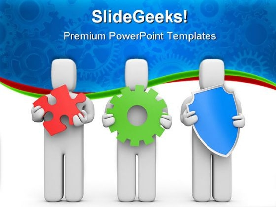 Complex Business Services PowerPoint Templates And PowerPoint Backgrounds 0511