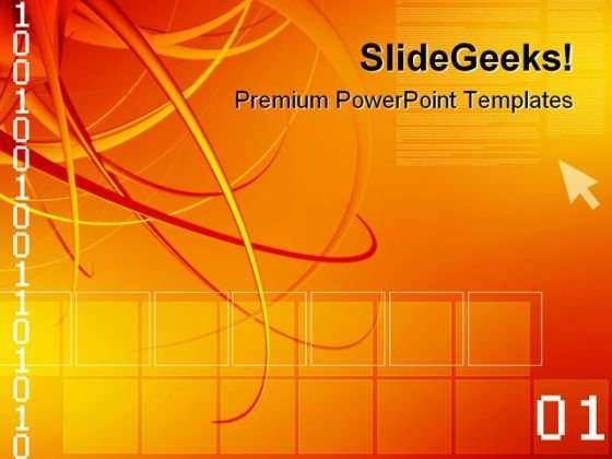 Computer Background With Code Technology PowerPoint Themes And PowerPoint Slides 0511