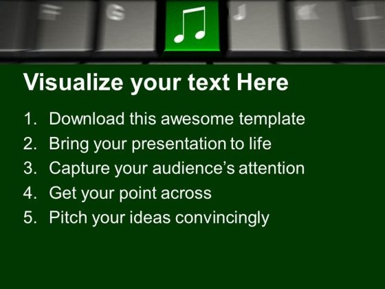 computer_keyboard_with_music_symbol_button_powerpoint_templates_and_powerpoint_themes_1012_text