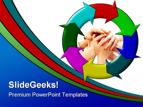 Concept Helper Symbol PowerPoint Backgrounds And Templates 1210