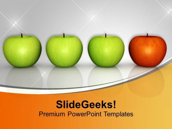 Concept Of Individuality Business PowerPoint Templates Ppt Backgrounds For Slides 0613