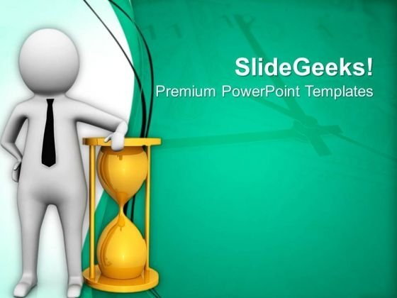Concept Of Punctuality Business PowerPoint Templates Ppt Backgrounds For Slides 0813
