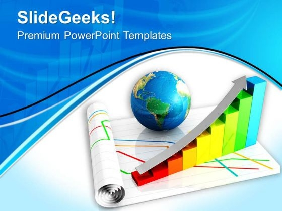 Conceptual Image Of Global Economy PowerPoint Templates Ppt Backgrounds For Slides 0713