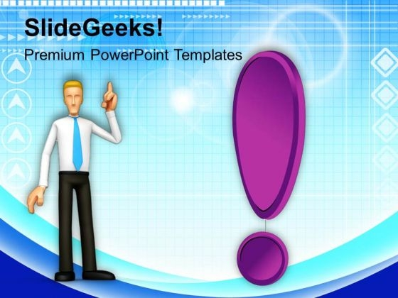 Confused Business Man Strategy Business PowerPoint Templates Ppt Backgrounds For Slides 0213