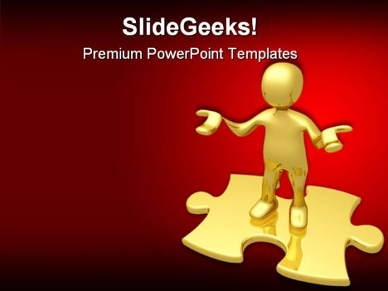Confusion01 Business PowerPoint Themes And PowerPoint Slides 0811
