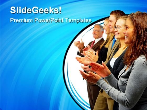 Congratulations Success PowerPoint Themes And PowerPoint Slides 0811