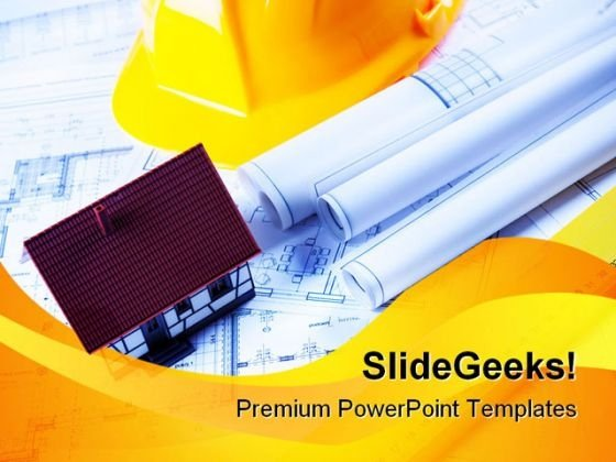 Builder powerpoint templates slides and graphics construction plans real estate powerpoint templates and powerpoint backgrounds 0611 toneelgroepblik Gallery